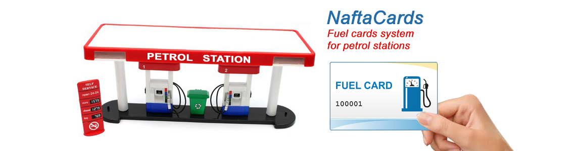 NaftaCards fuel cards system for petrol stations