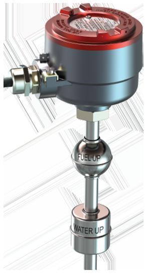 Магнитострикционный искробезопасный проводной уровнемер Alisonic DELPHI 485