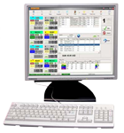 Computer system of control and account
