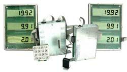 Отcчетное устройство для топливораздаточных колонок (вариант 2х2)