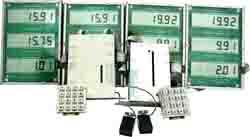 Отcчетное устройство для топливораздаточных колонок (вариант 2х2х2)