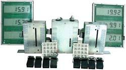 Отcчетное устройство для топливораздаточных колонок (модульный вариант)