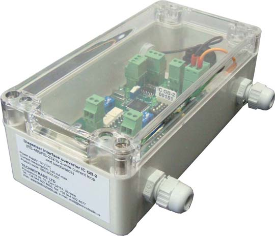 GB-2 (плата 2-ух канального преобразователя в корпусе)