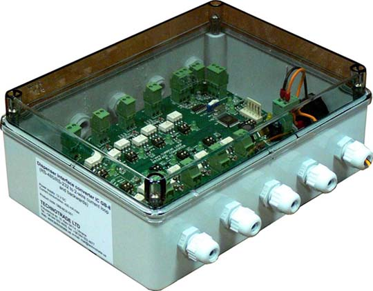 GB-8 (плата 8-ми канального преобразователя в корпусе)