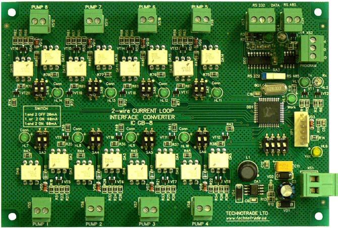 Преобразователь интерфейсов для ТРК GB