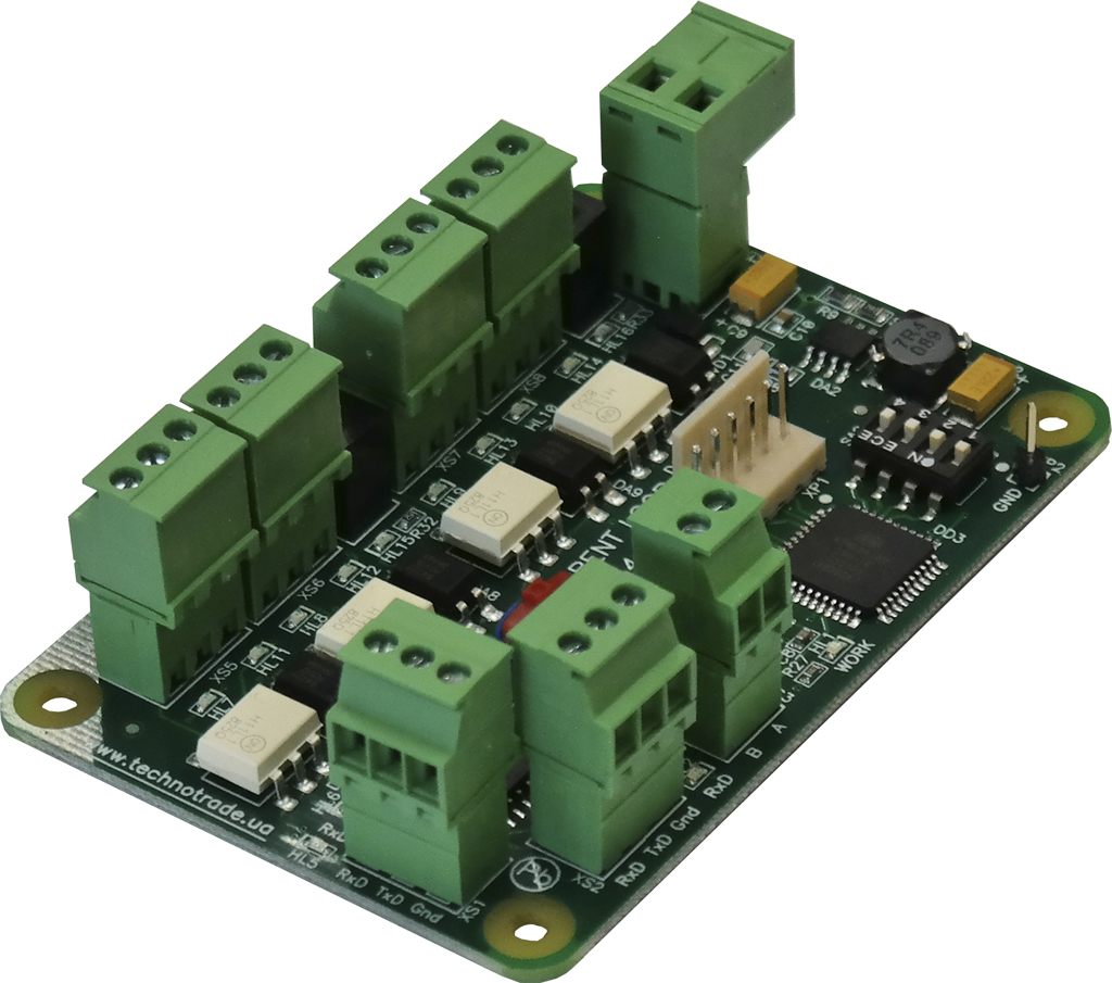 Interface converter for petrol stations