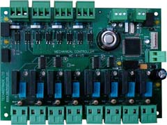 MC-4 controller PCB board with terminal blocks