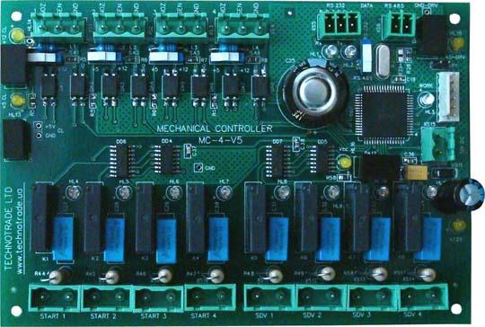 Контроллер управления электромеханическими топливораздаточными колонками