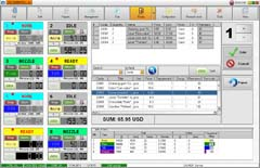NaftaPOS petrol station management software: skin Neutral 3