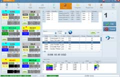 NaftaPOS POS system software for petrol stations: skin WEB2