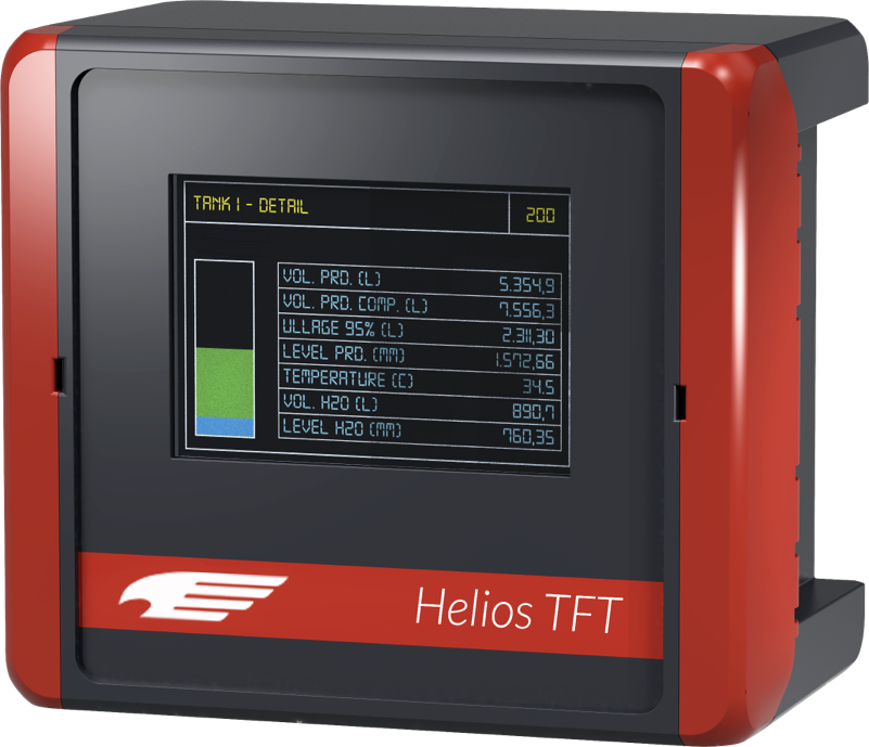 Helios TFT automatic tank gauging console