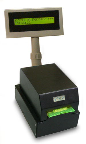 Fiscal printer POS.21 for petrol stations