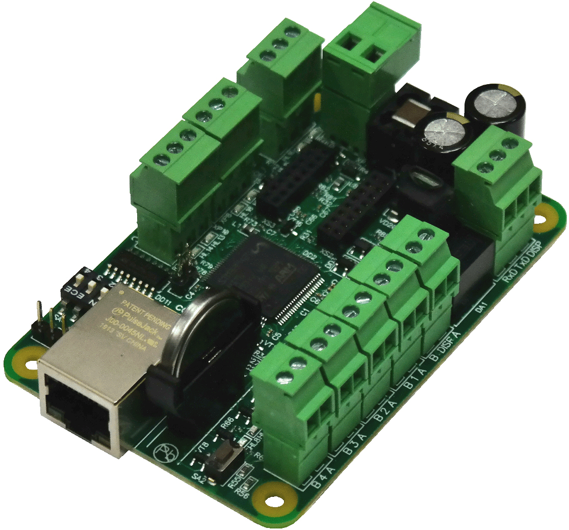 Forecourt controller for petrol stations