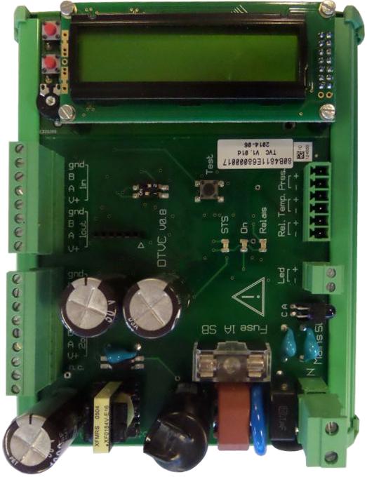 Устройство температурной коррекции объема нефтепродуктов TVC