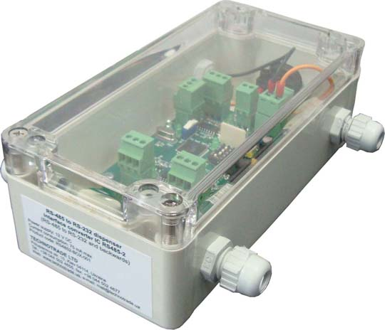 RS-485/RS-232 interface converter