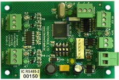 RS-485/RS-232 dispenser interface converter