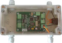 Connect to RS-232 dispenser