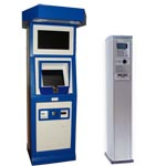 Outdoor payment terminals (OPT) for petrol stations