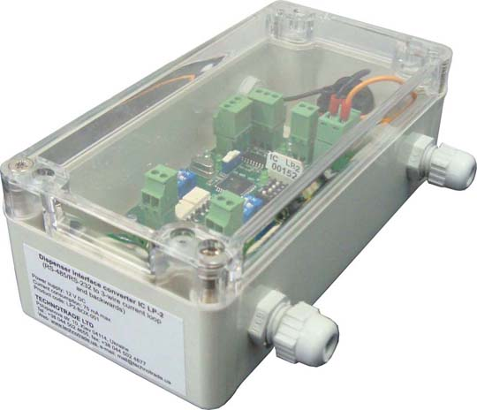 LP2 interface converter in box