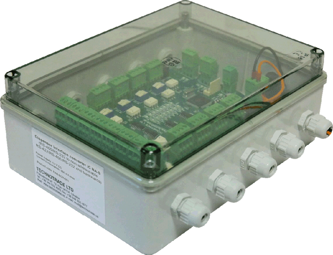 NA8 interface pump converter in box