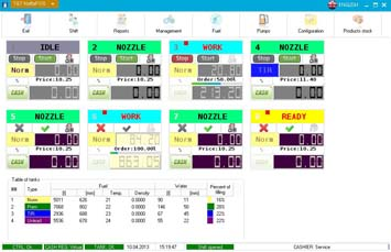 NaftaPOS software general view 2