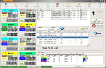 NaftaPOS software general view 1
