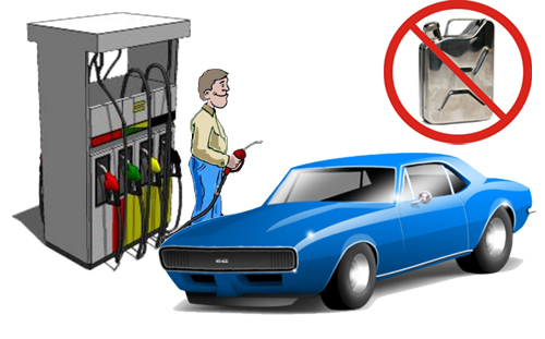 Fuel fraud identification system