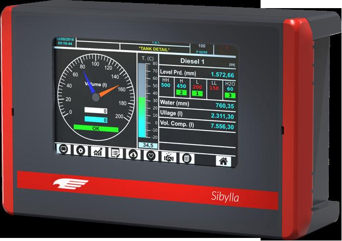 Sibylla automatic tank gauging console