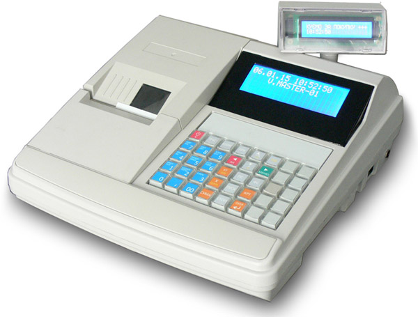 Cash register for petrol stations POS MASTER