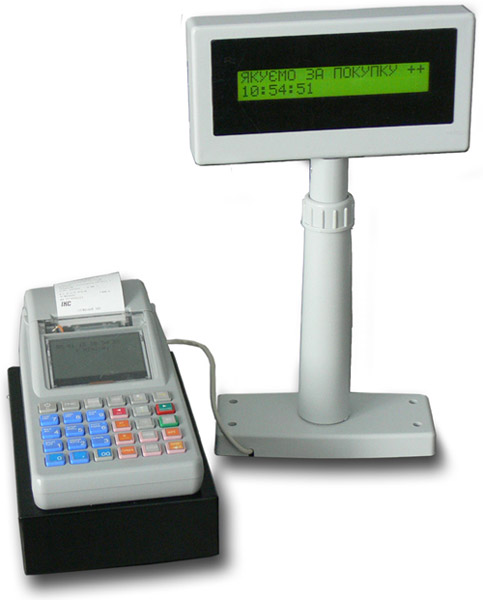 Cash register for petrol stations POS MINI