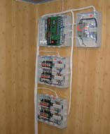 Общий вид смонтированного контроллера управления КУ T&T и схем релейной автоматики на нефтебазе