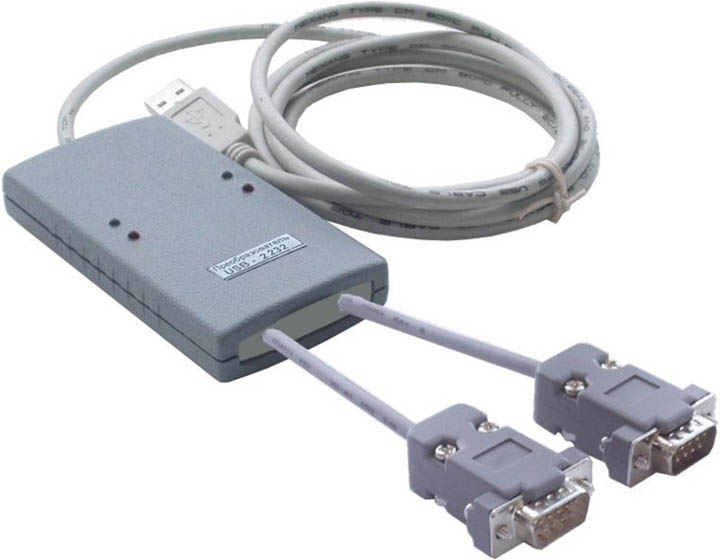 USB to RS-232 interface converter