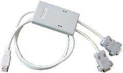 USB to COM interface converter (2 channels)